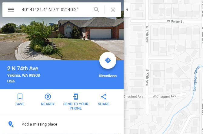 how to use gps coordinates on google maps