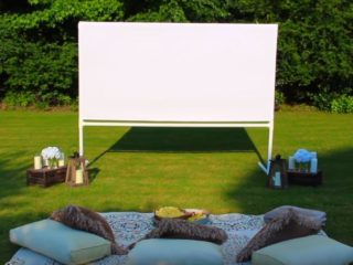 How many lumens do you need for an outdoor projector?