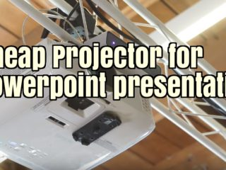 Cheap projector for PowerPoint presentations - Buyers Guide 2019